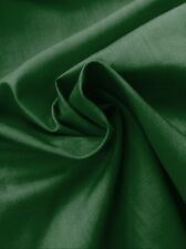 "Green Poly Cotton Fabric - Dress Making -Lining- By Meter - 44""/112cm Wide"