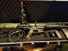G&G Arm. CM16 SRXL Custom HPA Forrest Tiger Stripe Gun Skin Bundle