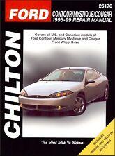 Ford Contour, Mercury Mystique, Cougar Repair & Service Manual 1995-1999