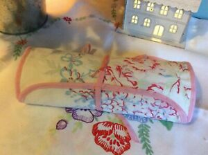 Handmade cath kidston sew embroidery, pencil, brush roll only...threads not inc