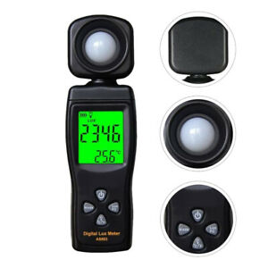 1 Pc Lux Meter Prime Sturdy Durable Premium Meter Tool Photometer