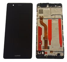 Huawei P9 Display LCD Touchscreen Glas Displayeinheit Rahmen Schwarz
