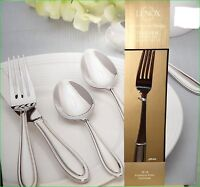 Lenox Hayden 65 Piece Flatware Set Service For 12 Stainless 18/10 Classic NEW