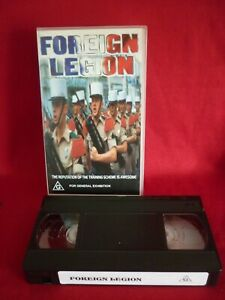 FOREIGN LEGION - DOCUMENTARY ABOUT THE FAMOUS FRENCH FORCE VHS VIDEO VGC