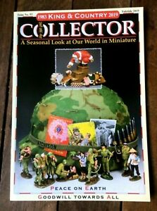 King & Country toy soldiers Collector Magazine No 53, Yuletide, 2019
