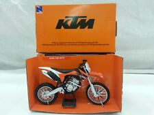 NEW RAY MODELLINO MOTOCROSS KTM 350 SXF SCALA 1:12