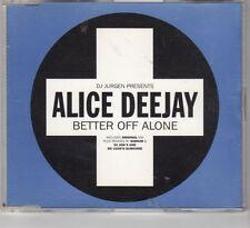 (HE798) Alice Deejay, Better Off Alone - 1999 CD