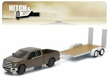 GREENLIGHT 1:64 HITCH & TOW SERIES 5 - 2015 FORD F-150 And FLATBED TRAILER