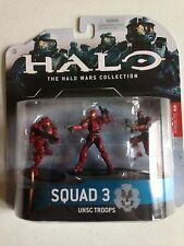 HALO 3 - HALO WARS HEROIC 3 PACK SQUAD 3 (RED)