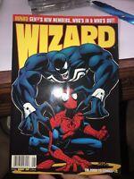 VENOM SPIDER-MAN Wizard Magazine #72 vintage1997 Knull Black Spidey Miles Comics