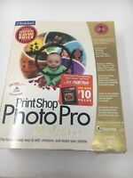 PRINT SHOP PHOTO PRO DELUXE BRODERBUND Version 2 Windows Microsoft