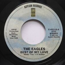 Rock 45 The Eagles - Best Of My Love / Ol' '55 On Asylum Records
