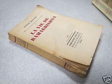 LA VIE DE RAMAKRISHNA ROMAIN ROLLAND STOCK 1952 *