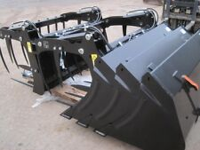 Quicke ALO loader tractor attatchments bucket/grab/tines/bale spike/fork