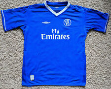 Chelsea 03/05 Vintage Reversible Home kit/jersey youth XL - boys 2003/05
