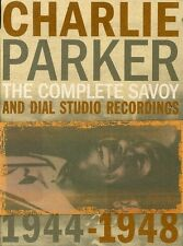 Charlie Parker - Complete Savoy & Dial Studio Recordings 1944-1948 [New CD] Boxe