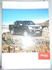 Isuzu KB brochure Apr 2007 South African market