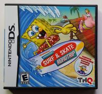 Spongebob Surf & Skate Roadtrip - Nintendo DS DS Lite 3DS 2DS Game Works !