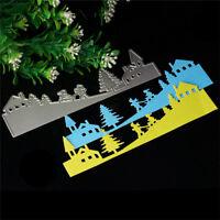 Stencil Cutting Dies Scrapbooking Album Karte Tagebuch Stanzschablone 143x42mm