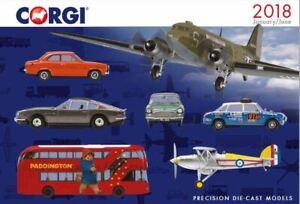 Model Car Magazine Book Booklet Corgi Catalog Corgi (Jan-Jun) Modellis