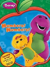 Barney: Numbers! Numbers! DVD - NEW