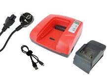 Powersmart 20-36v Chargeur pour BOSCH Bat818 Bat840 Bc830 Rouge