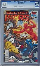 SECRET WARS # 3 Mile High Comics Edition Variant Cover CGC 9.8 Marvel 2015