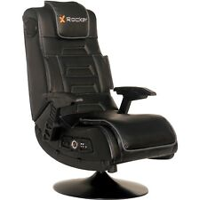 Gaming Chair X Pro Pedestal Video Rocker High Back 2.1 Wireless Audio Game Black