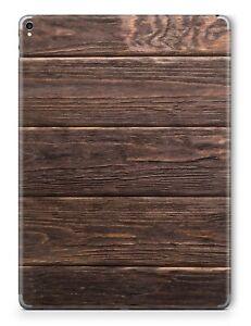 Apple iPad Skin Schutzfolie Aufkleber Design Sticker Vinyl Folie Brown Wood