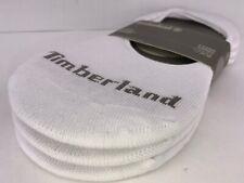 Men's TIMBERLAND white 79% COTTON Shoe Liner Low Cut Socks - 3 Pack - $24 MSRP