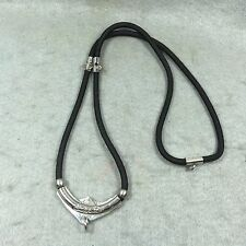 Pendant Thai Rope 3 Hook 24 inch Necklace Buddha Amulet Charm Long Chain NEW #