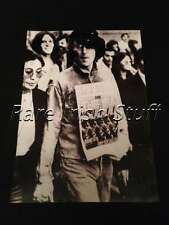 John Lennon (Beatles) & Yoko Ono in IRA March, London 1971 - Irish Print