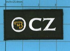 CZ Ceska Zbrojovka iron patch Guns Pistol Safe Action Handgun Police Army Bag