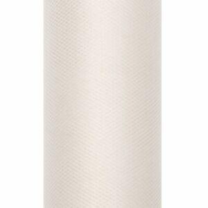 Rodillo de Tul Crema 30cm X 9m