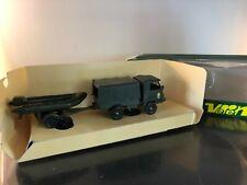 VEREM (solido) camion 4x4 Renault Goelette + remorque porte bateau Zodiac n°9509