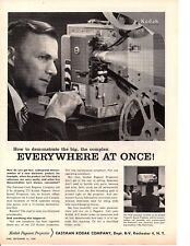1959 EASTMAN KODAK 275 PAGEANT PROJECTOR ~ ORIGINAL PRINT AD