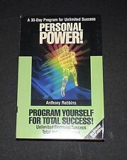 Anthony Tony Robbins Personal Power Cassette Volume 11 Replacement 1989
