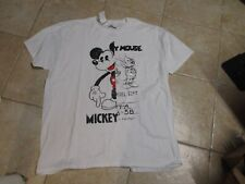 Disney (Mickey Mouse) Mens T Shirt Size (Xxl) Nwt $25 White Classic Graphics