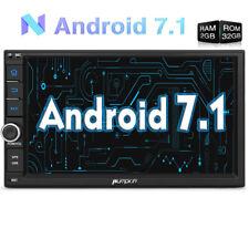 Doppel 2 Din HD Autoradio GPS Navi 3G WiFi Android 7.1 USB MP3 SD Player 2GB RAM