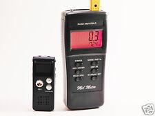 Mel-8704R EMF Meter, Digital 8GB EVP Voice Recorder & Paranormal CD New