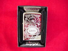 Zippo An American Classic Engraved Chrome Lighter GREAT NEW
