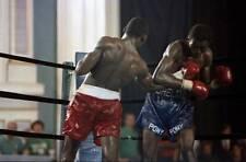 Old Boxing Photo Marlon Starling Lands A Right Uppercut Against Mark Breland