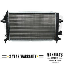 MANUAL RADIATOR FOR VAUXHALL/ ASTRA H, ZAFIRA B 1.3, 1.7, 1.9, 2.0 2YR WRANTY