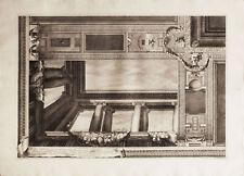 ARCHITETTURA  - G. B. Brustolon - Incisione Originale 1756