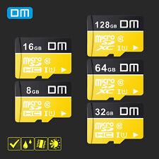 DM TF Class 10 Micro SD Memory Card 128 64 32 16 8GB SDHC SDXC Adapter Reader