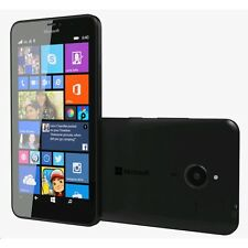 Nuevo Nokia Lumia 640XL Negro 8GB 3G Desbloqueado Windows 8 Wifi Doble Sim