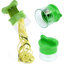 Hot Handheld Spiralizer Noodles Zucchini Spaghetti Pasta Maker Vegetable Slicer