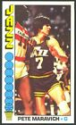 1976-77 Topps Basketball Pete Maravich #60 - New Orleans Jazz - EX