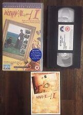 WITHNAIL AND I PAL VHS 10th Anniversary + Poster Card (1986, PAL) RARE P103