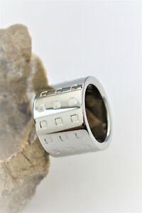 CK Calvin Klein Ring Schmuck GRID KJ41AR010106 Gr.6